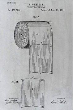 Ce schéma vieux de 124 ans révèle enfin la bonne manière d'utiliser le papier toilette. Il était temps !