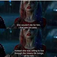 harley quinn quotes from the movie