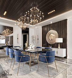 Autocad, Adobe Photoshop, Dining Area, Kitchen Dining, Dining Room, Wardrobe Interior Design, Neoclassical Design, Autodesk 3ds Max, Modern Bedroom Design