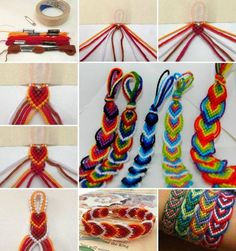 16 pretty bracelet tutorials designs patterns of friendship bracelets diy tutorials to do at sliding knot bracelet diy crafts unleashed Diy Friendship Bracelets Tutorial, Diy Friendship Bracelets Patterns, Diy Bracelets Easy, Bracelet Crafts, Bracelet Tutorial, Jewelry Crafts, Yarn Bracelets, Ankle Bracelets, Diy Bracelets Step By Step