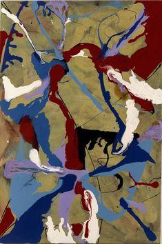 Achim Duchow, 'Good Lack', 1989 Varnish on canvas