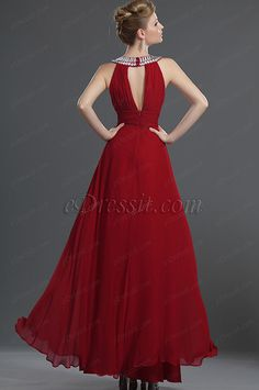 eDressit New Sexy Shinning Silk Evening Dress Red Evening Gowns, Chiffon Evening Dresses, Prom Dresses, Formal Dresses, Burgundy Bridesmaid Dresses, Bridesmaids, Goddess Dress, Tea Length Dresses, Pretty Dresses