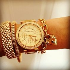 GOLD MK! Love the accessories along with the watch!