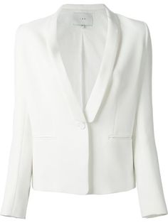 Go less finance and more fashion with designer blazers for women at Farfetch. We've got structured styles from Balenciaga, relaxed fits from Tibi and many more. White Tux Jacket, Blazers For Women, Stella Mccartney, Alexander Mcqueen, Shopping, White White, Boutiques, Outerwear Jackets, Website