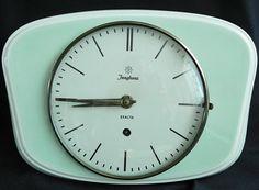 Retro küchenuhr ~ Art deco vintage retro kienzle german kitchen wall clock junghans