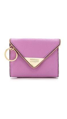 Rebecca Minkoff Molly Metro Card Wallet #2015handbags #wishlist