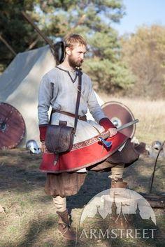Embossed Leather Bag Viking