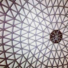 Dome interior / #architecture #structure #design