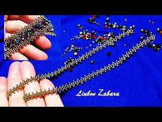 Bracelet from bead chains. Bracelet from bead chains. - Bracelet from bead chains. Bracelet from bead chains. Bracelet Crafts, Seed Bead Bracelets, Ankle Bracelets, Handmade Bracelets, Handmade Jewelry, Hanging Beads, Ankle Chain, Beaded Anklets, Beaded Jewelry Patterns
