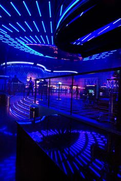 Interior Nightclub Design | LED Lighting Design | Casino Nightclub Décor | Route 66 Casino | Envy Nightlife