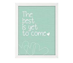 Mooie poster van Roomblush. Voor deze poster vond Roomblush inspiratie bij The best is yet to come van Novastar.