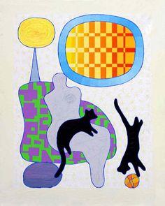 Pia Myrvold, Norway Norway, Moose Art, Kids Rugs, Paintings, Contemporary, My Favorite Things, Cats, Artist, Animals