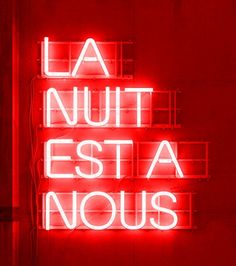French – Significant words – frech Red Lip Quotes, Lips Quotes, Neon Quotes, Neon Aesthetic, Quote Aesthetic, Neon Light Signs, Neon Signs, Neon Rouge, French Quotes