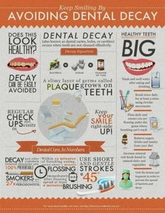 Avoiding #Dental Decay