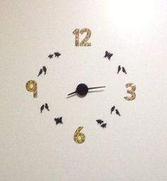 DIY bird clock