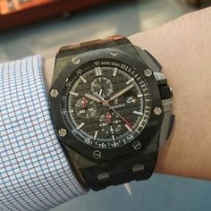 Carbon Case Chrono by #audemarspiguet now available at the #WatchCentre #London