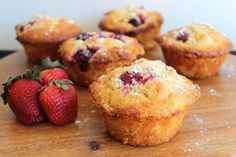 Lemon and Berry Cakes