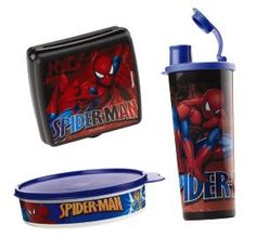 Spider-Man lunch set