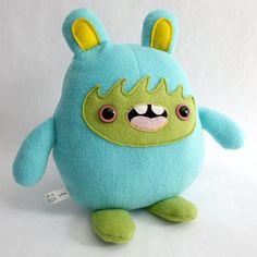 Cute monster plush