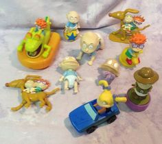 Rugrats Figurines Action Figures Toy Lot of 10 Toys