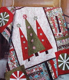 Step Into Christmas Fun Pieced and Applique Modern Quilt Pattern | eBay