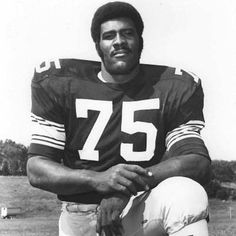 Mean Joe Greene.he's just about my favorite steeler of all time.he singlehandedly changed the culture and the mentality of a team that had been bad for so many years.he didn't tolerate or accept losing and that attitude rubbed off on his teammates.