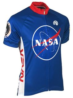 """NASA Cycle Jersey: ThinkGeek 