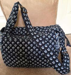 NWOT Vera Bradley Baby Diaper Bag, Shoulder Messenger Cross Body Handbag, Tote  #VeraBradley #Shoulder