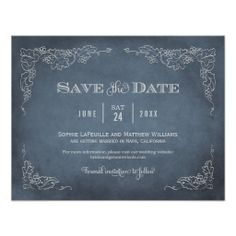 Wedding Save the Date Card | Vintage Wine Vineyard Dealsplease follow the link to see fully reviews...