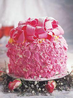 Pink Champagne Cake...Enough said!