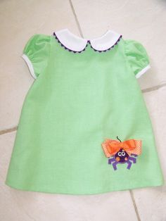 one of my most favorite patterns ever for Brooke.  One of her 3 year old dresses
