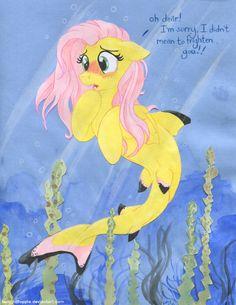 Fluttershark! by TwilightFlopple.deviantart.com on @DeviantArt