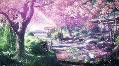 Un cerisier en fleur, le paysage que j'adore admirer Sakura Wallpaper, Anime Scenery Wallpaper, Anime Backgrounds Wallpapers, Episode Backgrounds, Animes Wallpapers, Aesthetic Anime, Aesthetic Art, Fantasy Landscape, Fantasy Art