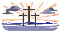 FAITH — MAKE IT REAL! Easter Crosses Cross-Stitch Pattern, free download