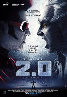 Rajinikanth in 2.0 First Look Poster => http://www.123cinemanews.com/movies-images.php?mc=First%20Look&id=2192
