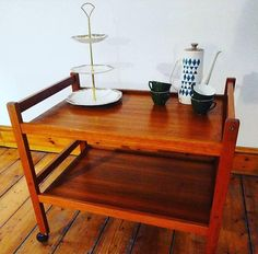Check out this item in my Etsy shop https://www.etsy.com/uk/listing/585765068/teak-1960s-danish-bar-cart-hostess