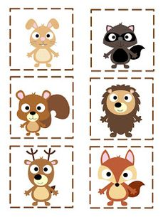 Woodland Forest animals free