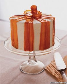 """See the """"Carrot Ginger Layer Cake with Orange Cream Cheese Frosting"""" in our  gallery"""