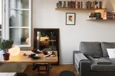 Un estudio de 27 m² en el centro de Estocolmo