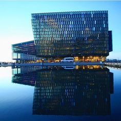 Harpan Concert Hall - a must see when in Reykjavik. See this and more beautiful spots in Reykjavik on our city tours - link in bio. :…