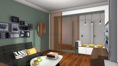 """""""Changer"""" grâce à Karine et Gaëlle : il est question d'inverser une chambre et un salon.dans la Maison France 5."""