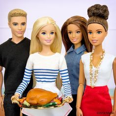 """Happy Thanksgiving! I have so much to be grateful for, including my wonderful friends. What are you thankful for this year?  #barbie #barbiestyle"""