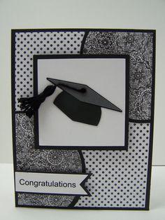 Stampin Up Handmade Greeting Card: Graduation Card, Class of 2014, Graduate Card, College Graduation, High School Graduation