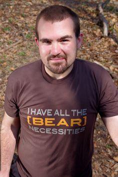 Hot british teen Bear Necessities
