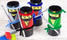 The LEGO NINJAGO Movie Craft – TP Roll Ninjas