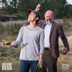 What a psycho! #TWD #BTS
