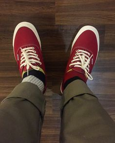 Vans OG LX Chilli Pepper