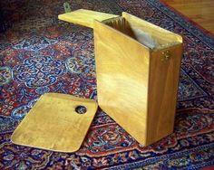 How to build a Pochade Box Panel Carrier by artist Jim Serrett