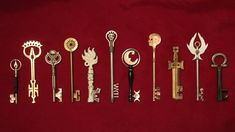 Someone has actually made the keys from the graphic novel Locke & Key by Joe Hill and Gabriel Rodriguez.  Skeleton Crew Studios.
