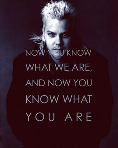 LOST BOYS! A REAL vampire movie!